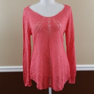Cato open knit sweater size medium